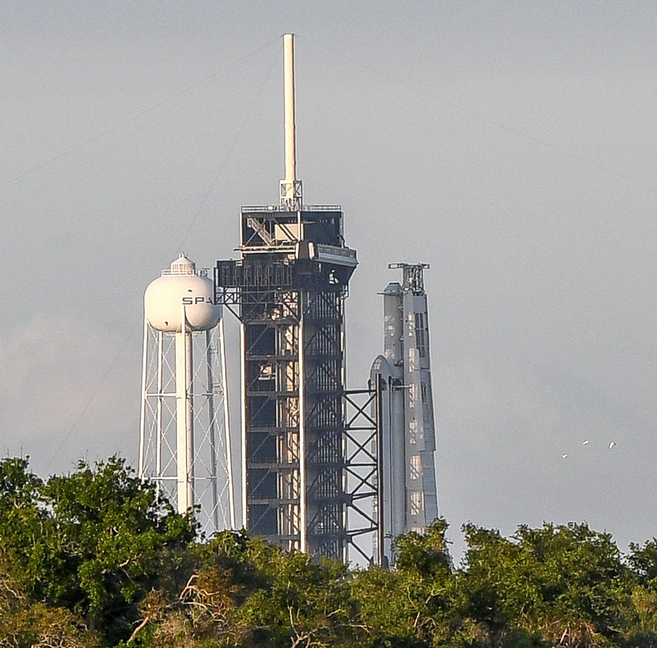 SpaceX's Falcon Heavy rocket is gearing up to take over the Space Coast a second time