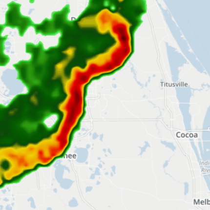 Storms bringing strong winds, heavy rain as they move across Florida