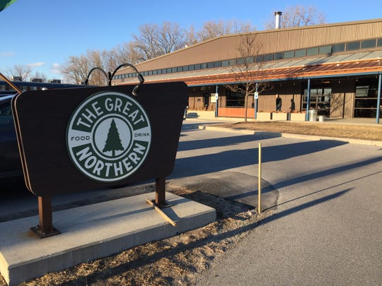 The Great Northern on Pine Street in Burlington was one of two restaurants that had signed up to participate in Frontline Foods Vermont as of April 2, 2020. The effort provides meals to health care workers on the front lines of COVID-19.