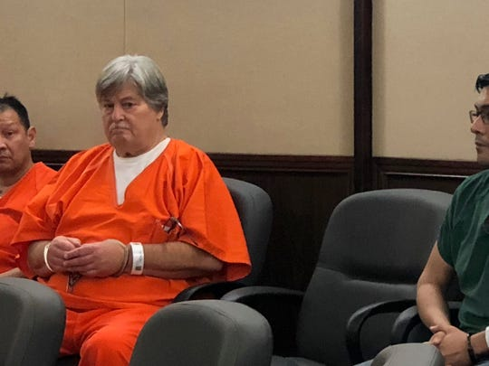 Theodore Allen appears in court on April 5, 2019.