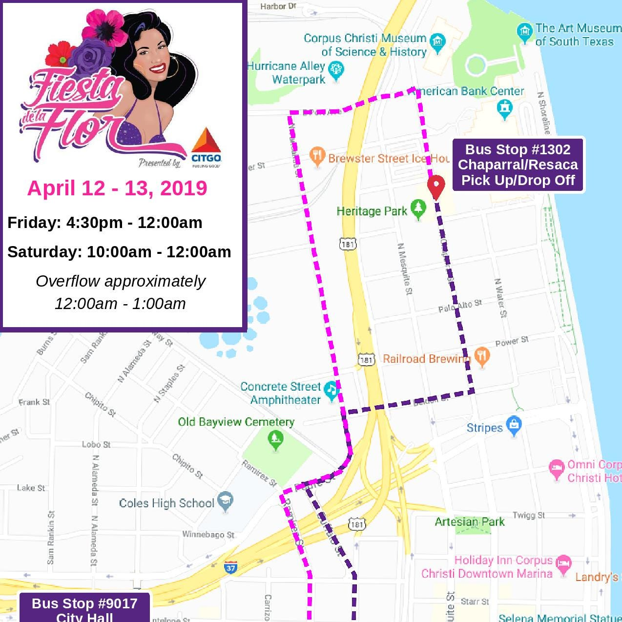 Fiesta de la Flor 2019: What you need to know about street closures, shuttle services