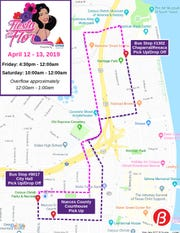 "The Corpus Christi Regional Transportation Authority will offer free ""Park and Ride"" shuttle services for Fiesta de la Flor 2019."