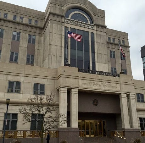 Woman admits calling in bomb threats to federal courthouse in Camden