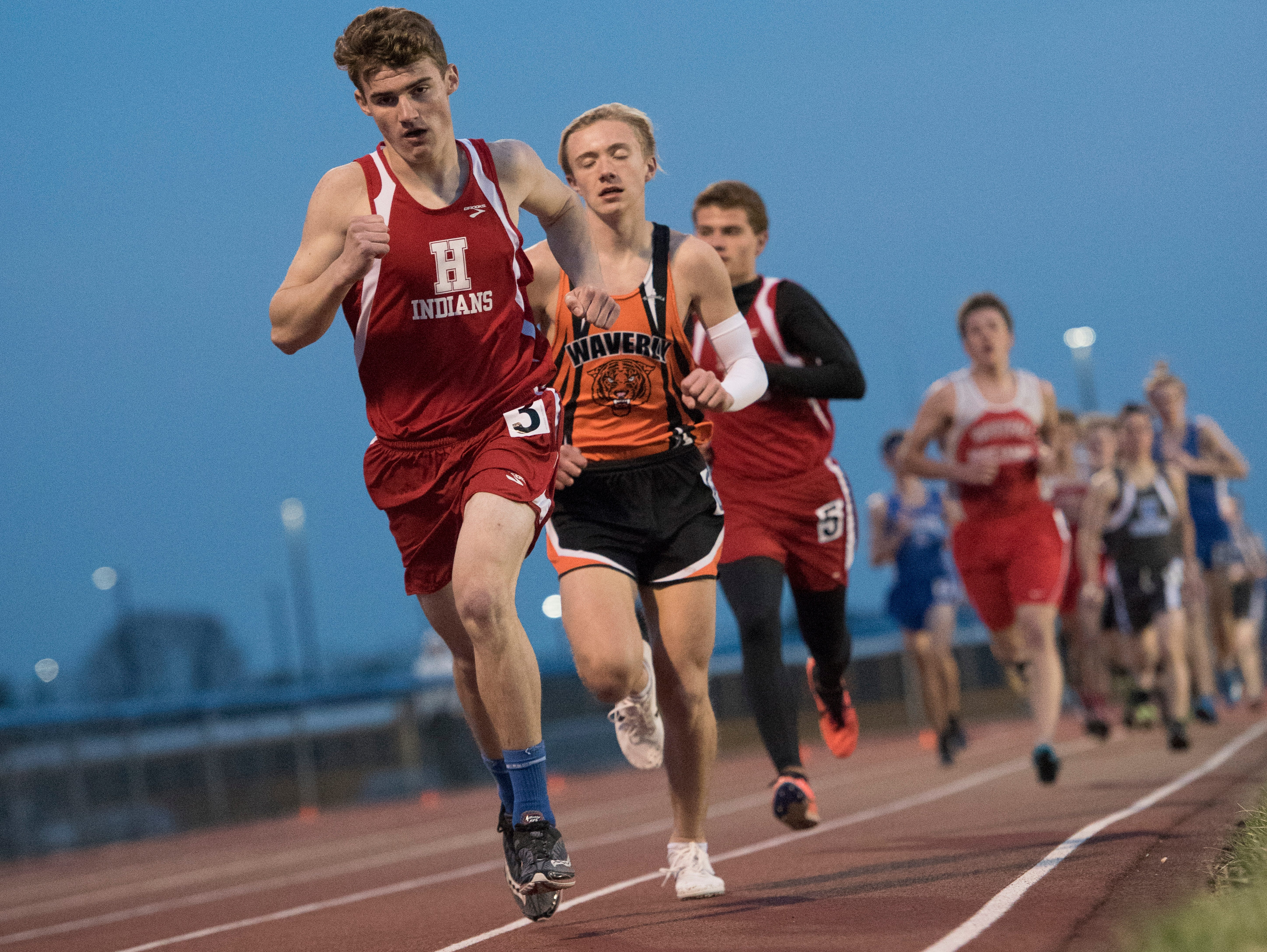 Several local schools competed at the RL Davisson Invite at Southeastern High School Thursday night with Chillicothe's girls placing fifth and Waverly's boys placing second overall.
