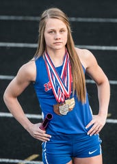Zane Trace senior Abbey Mohan has received multiple honors during her high school track career and is heading into the season with several goals she has set for herself.