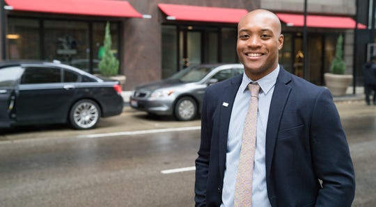 Marcus Thompson, leader of the Cincinnati USA Regional Chamber's Harnessing Young Professional Energy platform.