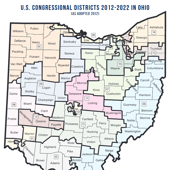 U.S. Supreme Court grants Ohio's request to delay new map in gerrymandering case