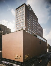 Terrace Plaza Hotel, Location: Cincinnati OH, Architect: Skidmore Owings & Merrill