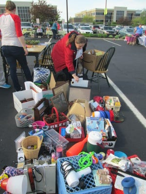 The annual Anderson Center Station Yard Sale is scheduled for 8 a.m. to noon on Saturday, May 4.