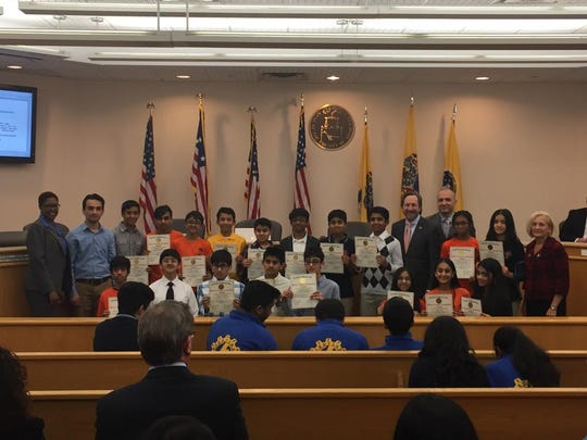 Congratulations to TEECS Science Olympiad Team, FTC Robotics Team and Vex IQ Robotics Team for receiving citations from the Somerset County Board of Freeholders on Tuesday, March 26.
