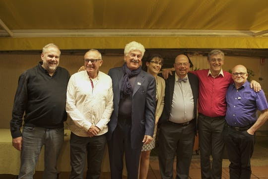 LaValle sponsored a reception with the president of the Loire Valley Chef's Association for all of the previous years' winners at La Grignotiere restaurant near Feurs about 30 miles from Saint-Étienne, owned by chefs Jerome and Sandree Pelossier.