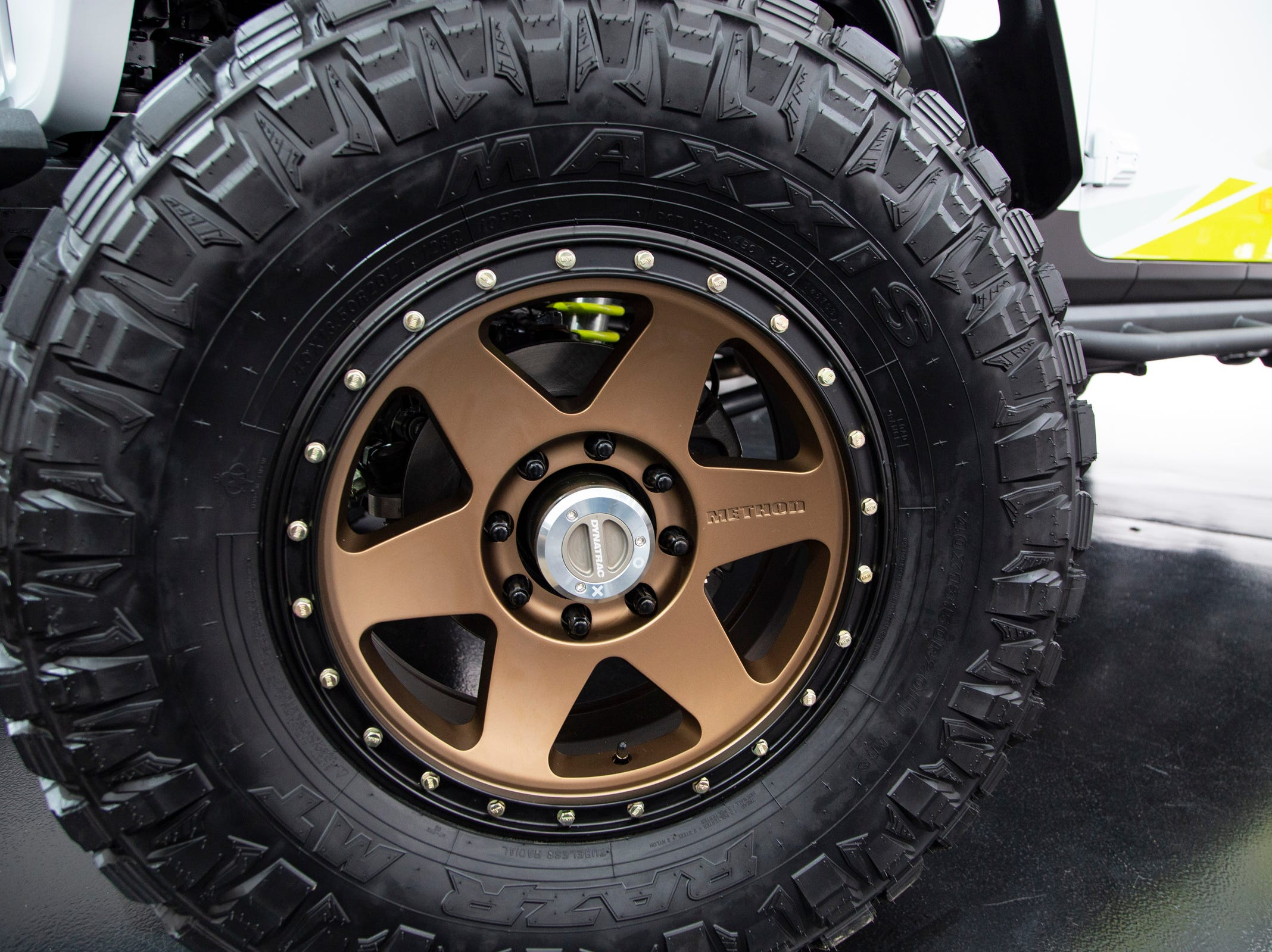 Jeep and Mopar brands debut six concept vehicles including the Jeep Flatbill Friday, April 5, 2019 at the Fiat Chrysler Tech Center and headquarters for the 53rd annual Moab Easter Jeep Safari. The Jeep Flatbill is a truck dedicated to dirt bike riding it is powered by a 3.6-liter  Pentastar V-6 engine with a cold-air Mopar Intake and mated to an eight-speed automatic transmission and 40-inch tires.