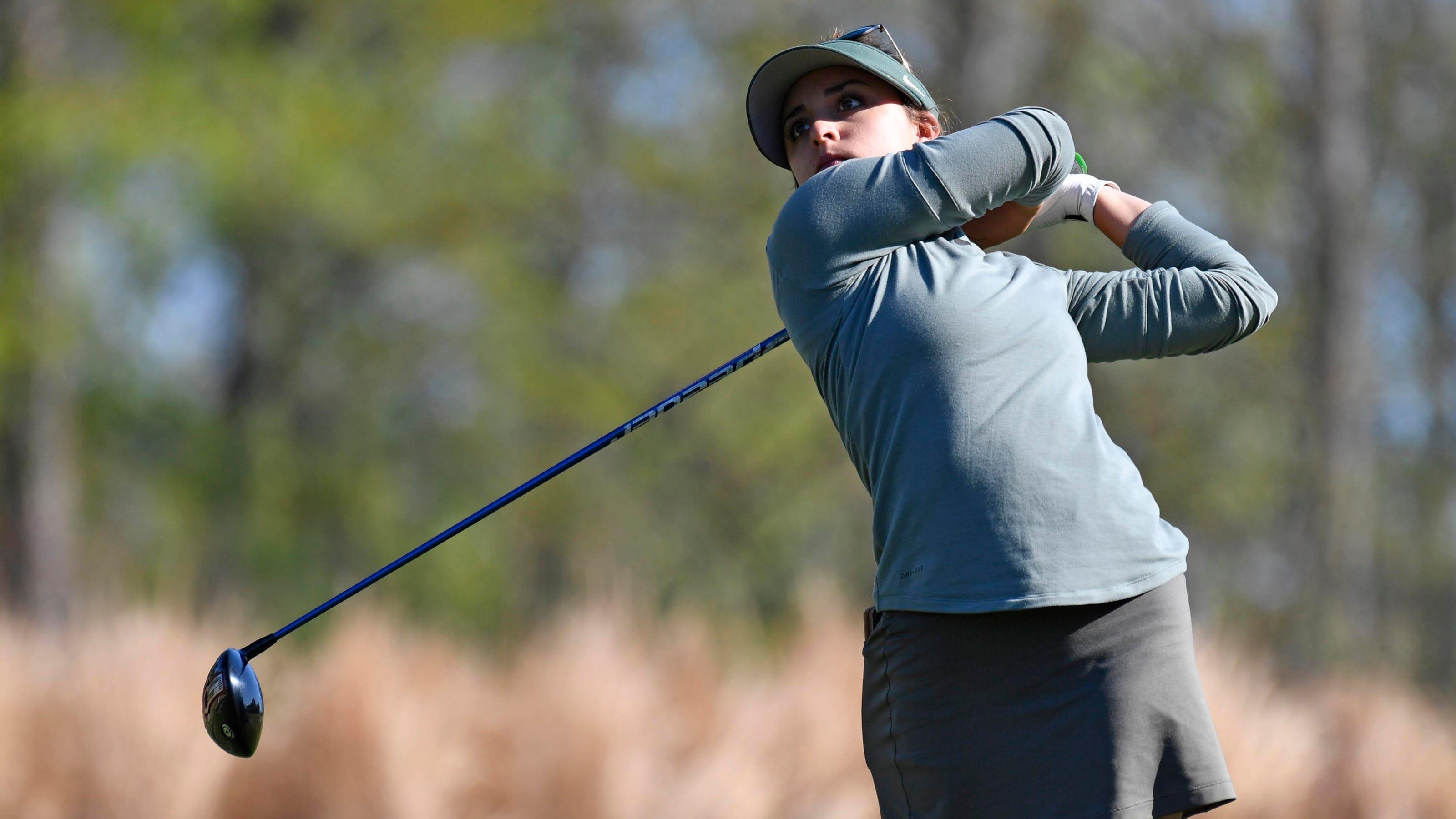 Msu Women S Golf Geer Park Makes History Before Spartans Posteason