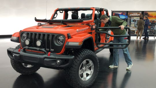 All the the Jeep Gravity's modifications are available from Mopar.