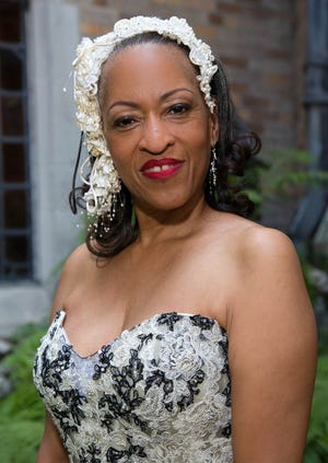 Sgt. Eren Stephens married Free Press reporter Bill Laitner in 2015.  A recently retired spokeswoman for Detroit Police, she died in April from complications of MS.