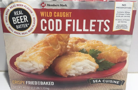 Member's Mark Wild Caught Cod Fillets