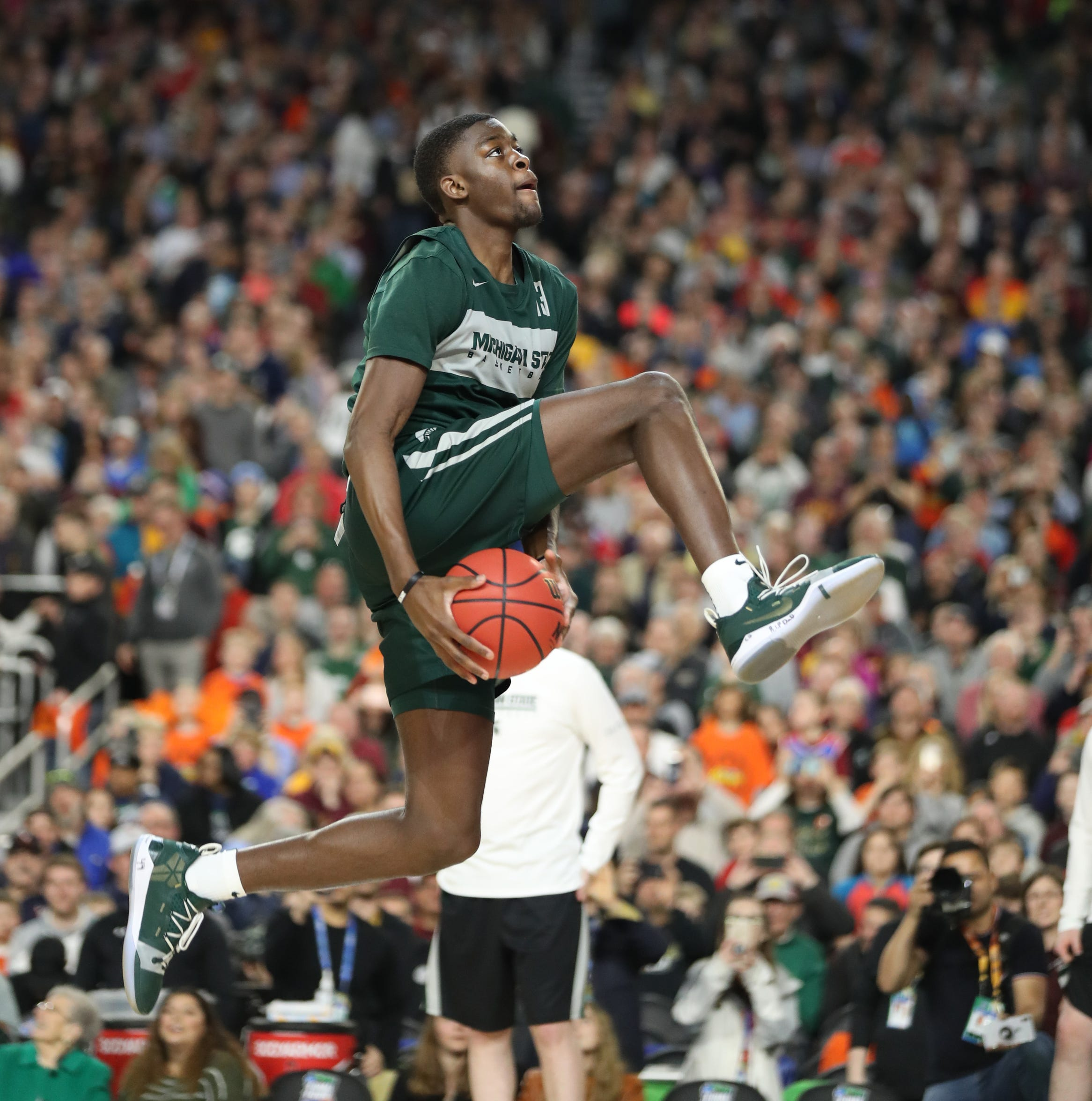 How Michigan State's freshmen are soaking in Final Four experience