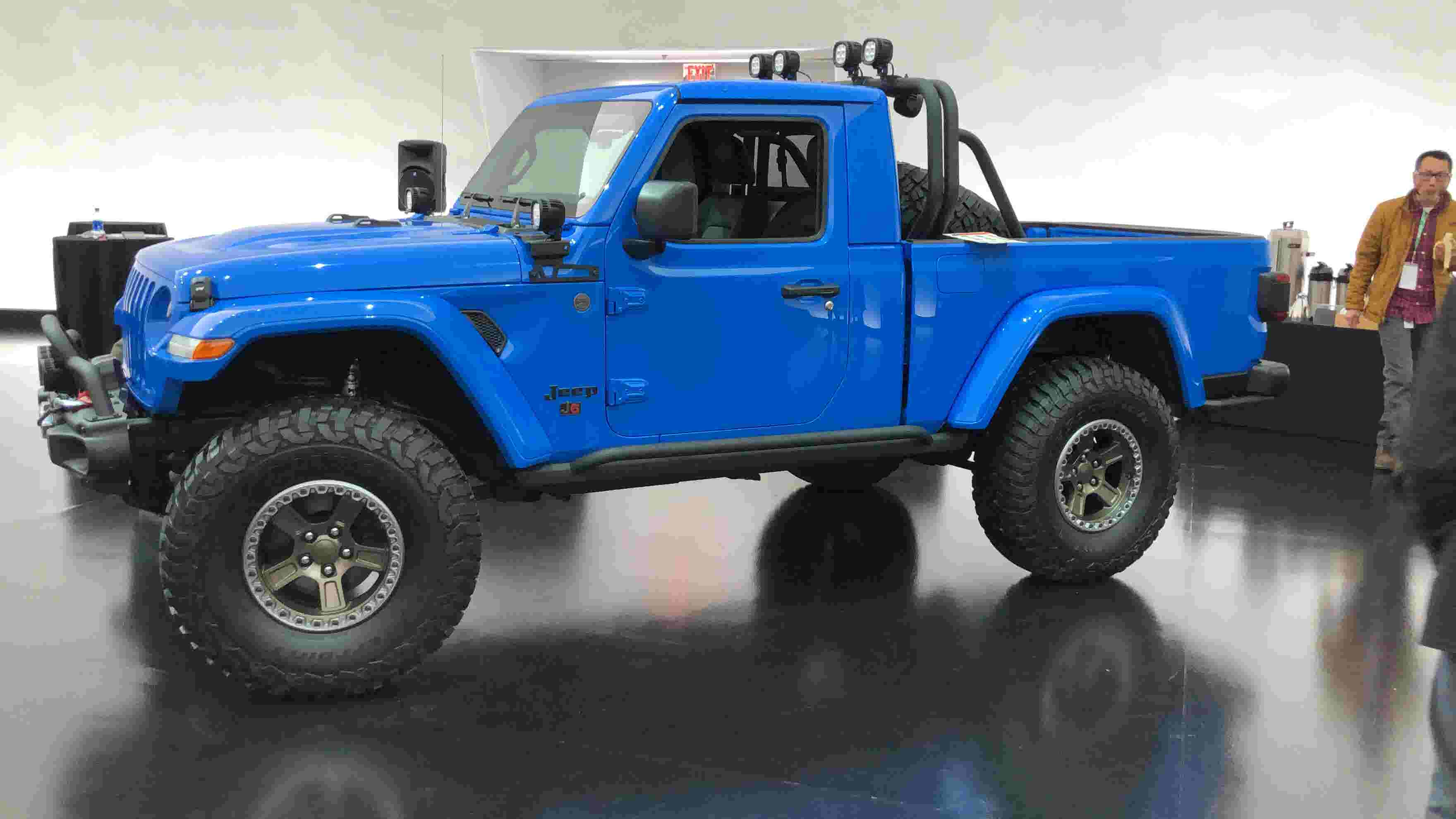 Video: First look at Jeep pickup concepts bound for Moab Safari