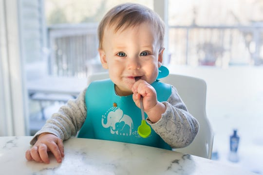 Ari Zoladz, 10 months, of Rockford, Mich., got his measles vaccine a little bit early because his parents are concerned about his risk of exposure to the virus when they visit Oakland County later this month to celebrate Easter.