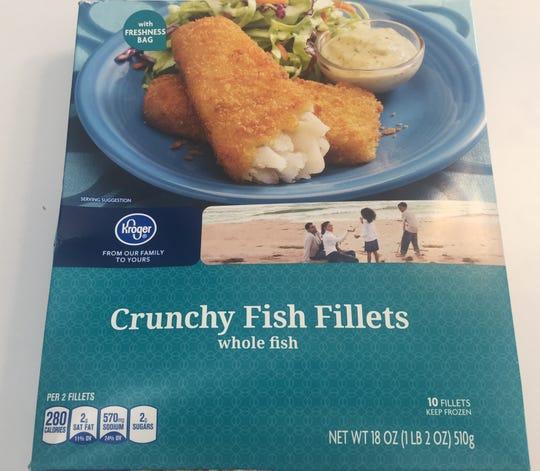 Kroger brand Crunchy Fish Fillets