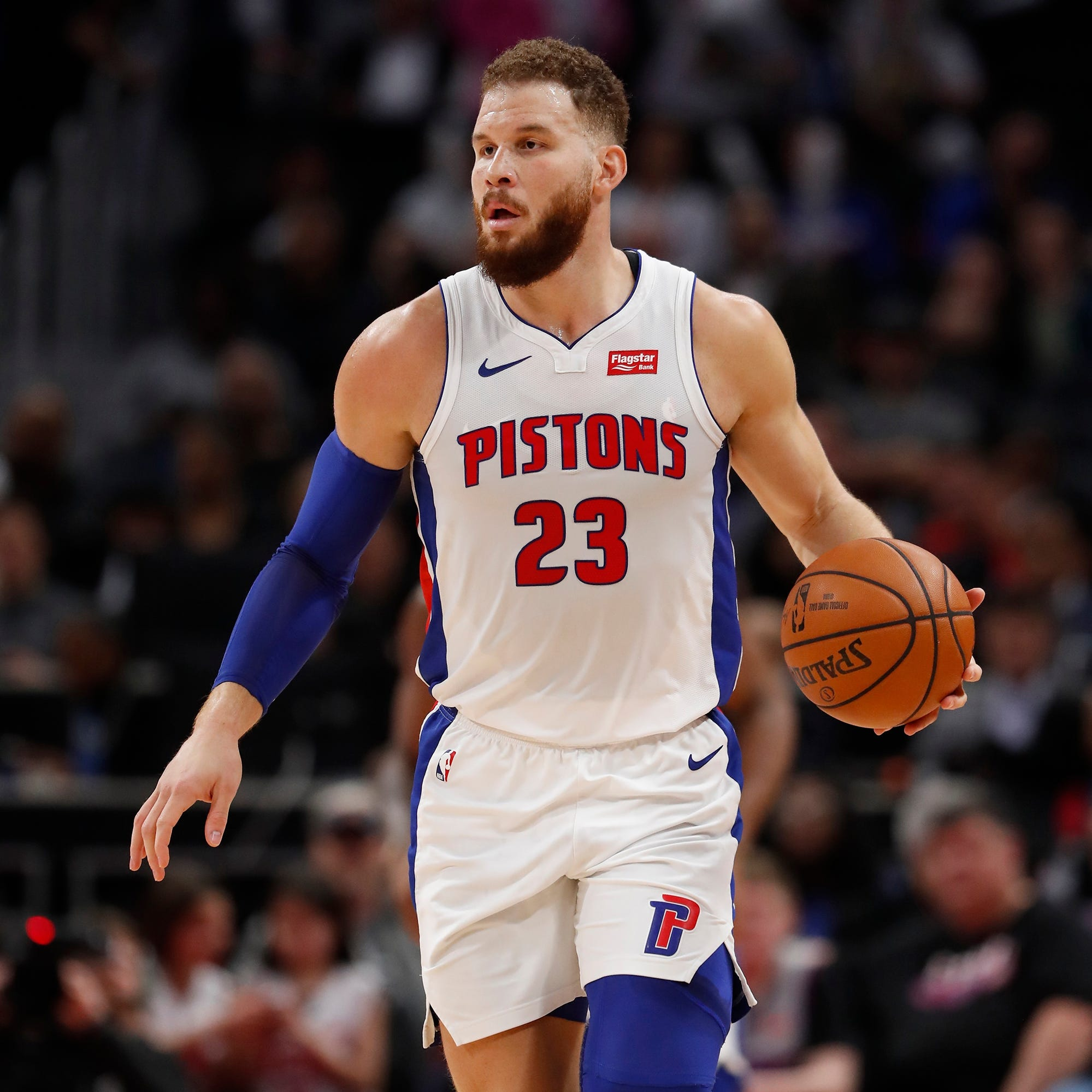 Blake Griffin a game-time decision for Pistons vs. Thunder