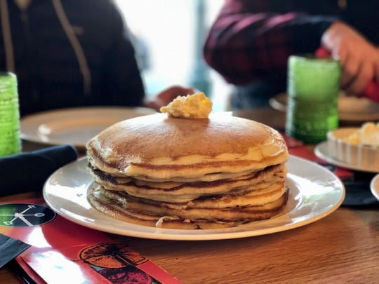"Hazel, Ravines and Downtown in Birmingham is hosting its first Easter brunch buffet with a carving station and pancakes with ""every topping you can think of."""