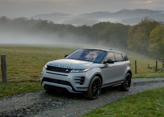 The 2020 Range Rover Evoque is redesigned for a cleaner look and receives an upgraded interior.