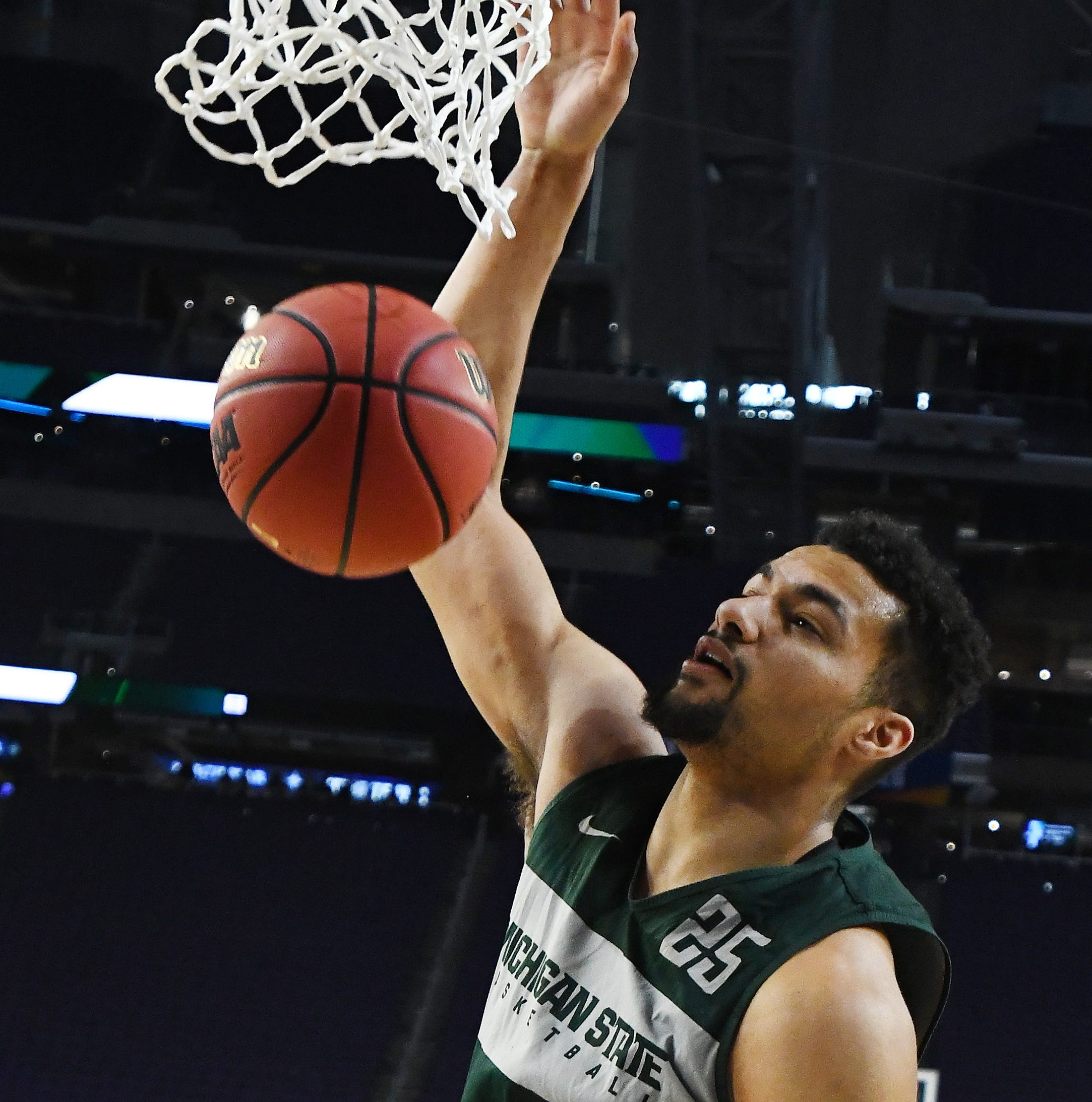 Niyo: Michigan State's Kenny Goins putting faith in 3-point shot thanks to guiding hand