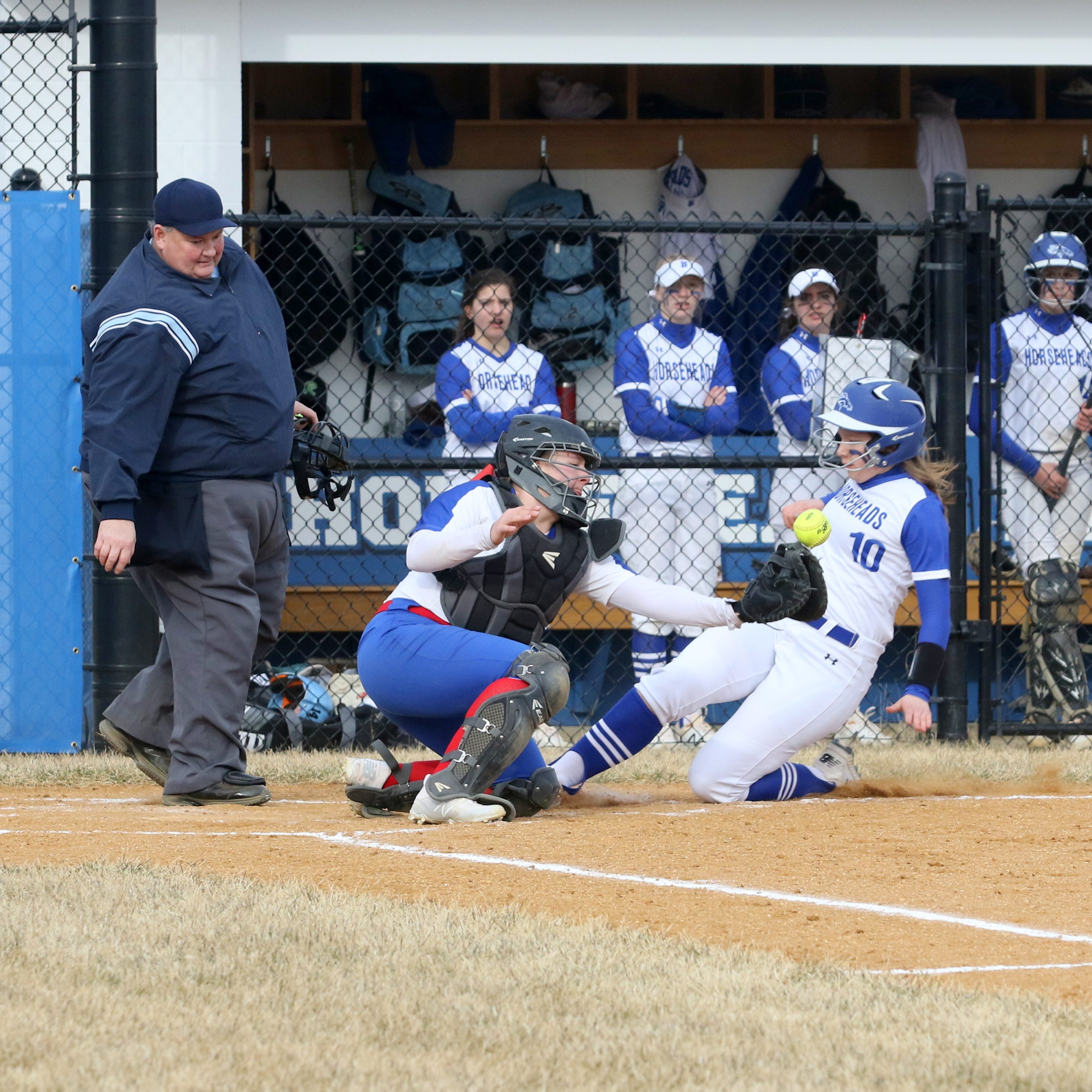 Horseheads rolls in first game as softball stadium officially opens