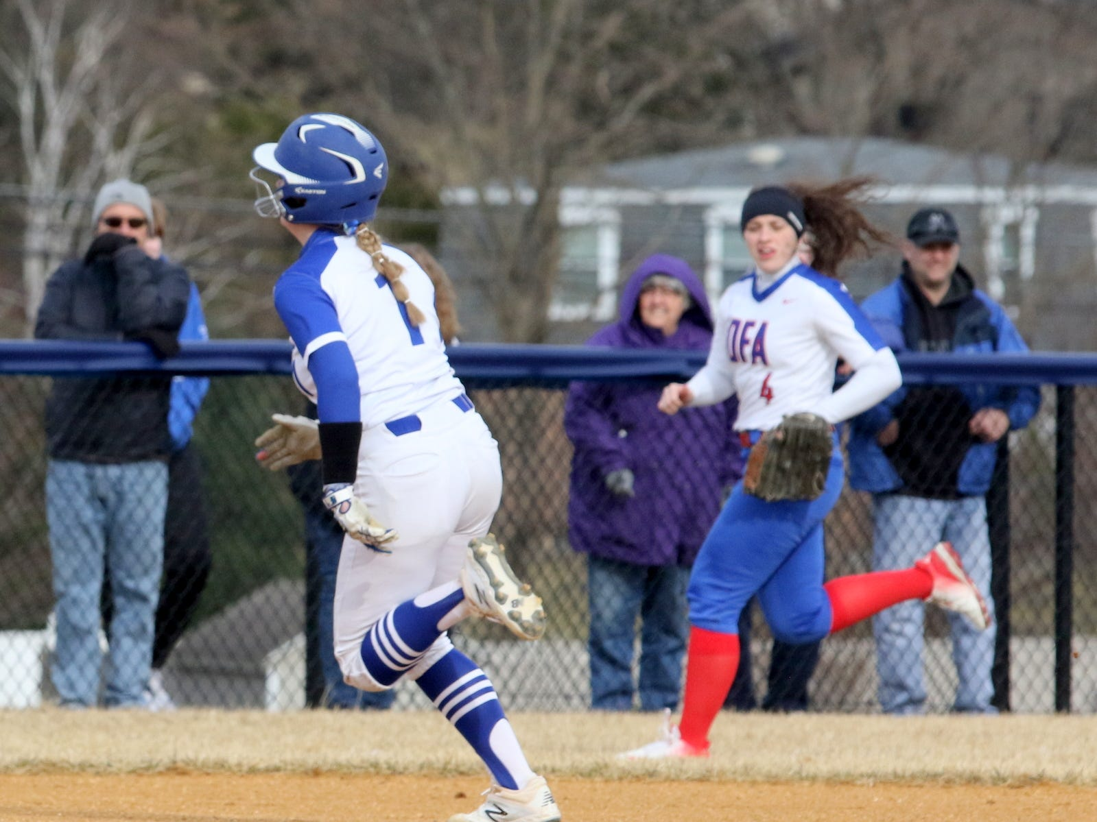 Owego at Horseheads softball April 4, 2019 at Horseheads Middle School.