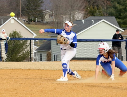 Horseheads' Kendal Cook said hitters benefited when the rubber was moved from 40 to 43 feet.