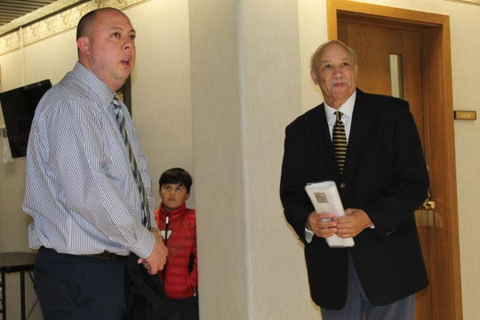 Fremont Mayor Danny Sanchez and Ohio NAACP President Tom Roberts spoke Thursday at Fremont City Hall as part of the local NAACP chapter's Dr. Martin Luther King Jr. Week.