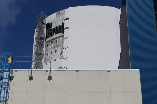 FirstEnergy Solutions is working on a $20 million building upgrade project at its Davis-Besse Nuclear Power Station.