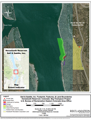 A map of the area where the Sail and Saddle Club is requesting a 20-year special-use permit.