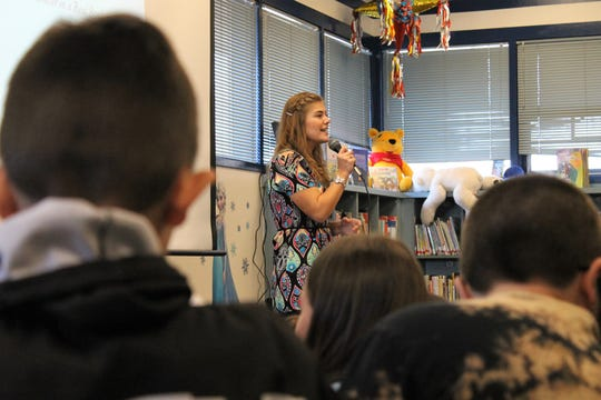 "Fort Collins author Brielle Kelley kicked off her national book tour March 28. Her book, ""The Little Skunk who was Afraid to Stink,"" has been published internationally."