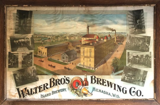 Walter Brothers Brewing was another brewery producing a high volume of beer (about 40,000 barrels annually) that was mostly consumed locally.