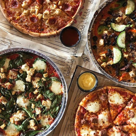 You can create thousands of varieties of pizzas with Rapid Fired Pizza's large selection of crusts, sauces, proteins, cheeses, veggies and dipping sauces.