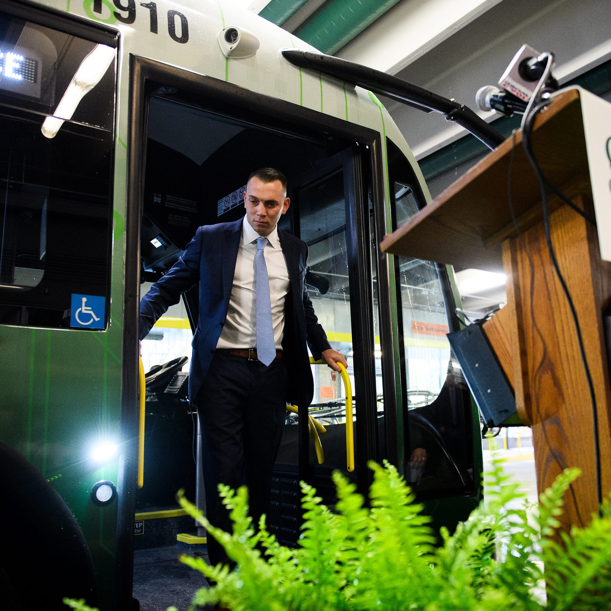 Electric buses soon to be humming around Greenville. 5 things you need to know