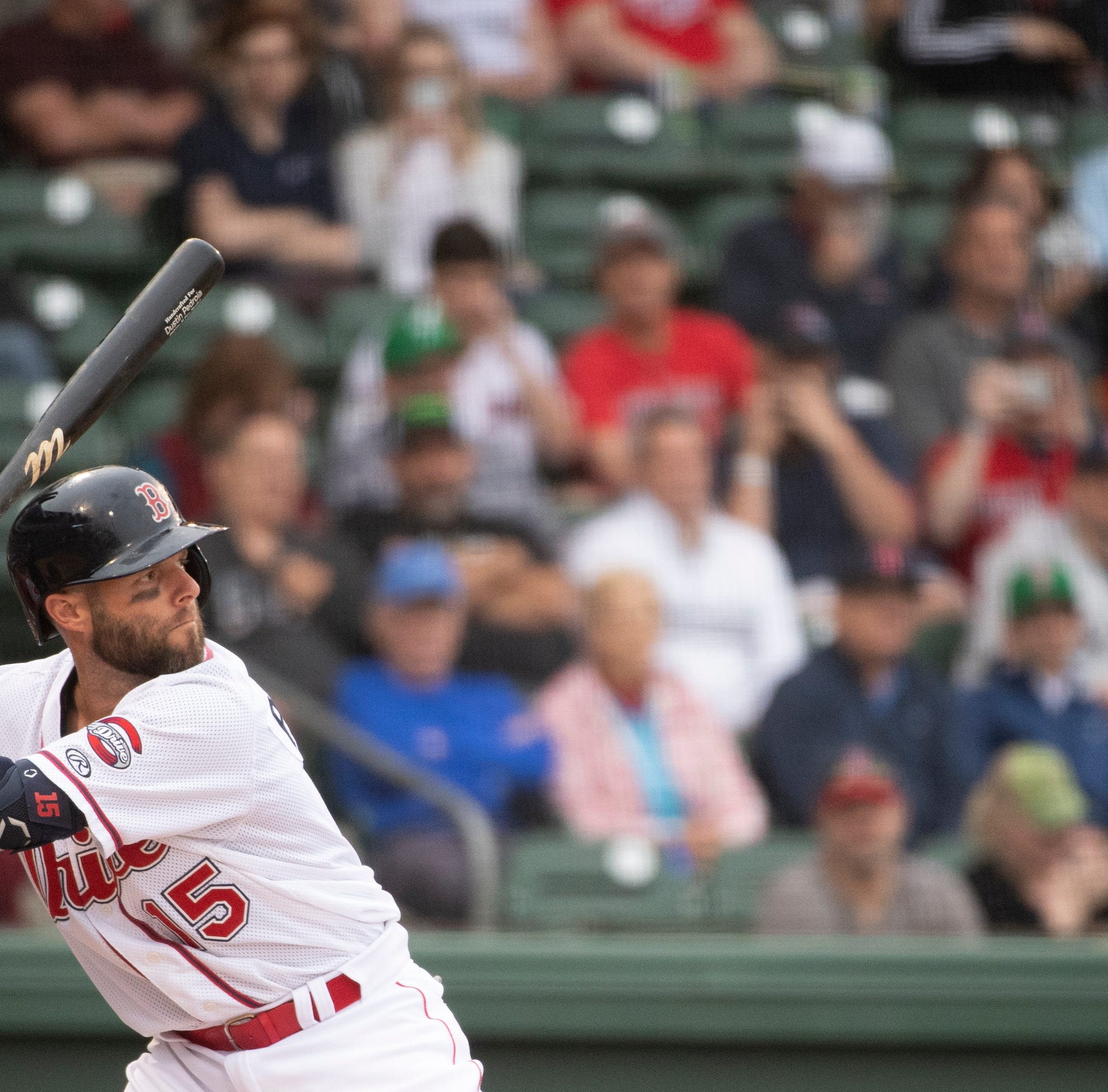 With Dustin Pedroia at second base, Greenville Drive draw record crowd on Opening Night