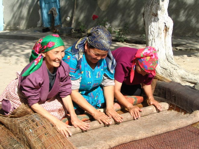 The Fair Trade Market will offer handmade items from countries all over the world.