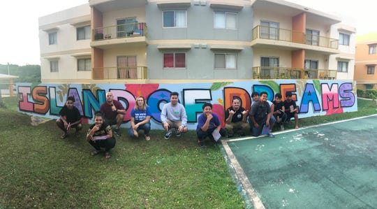 The project consists of street art, photography and spoken word/performing arts workshops lead by professionals in their craft. Artist that are partnering with Mañe'lu include, Ed Gaza, Tim Deleon Guerrero and Jerome Daco from Opake who are facilitating the street art workshops; Lewis Santos and Joe Cruz who are facilitating the photography workshops; and Eva Cruz and Kie Susico who are facilitating the spoken word/performing arts workshops.