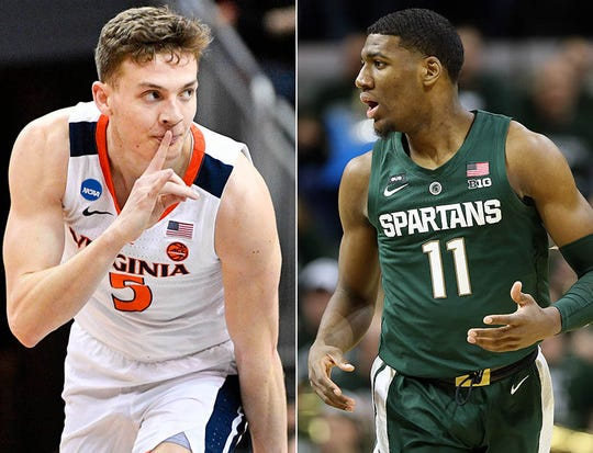 Kyle Guy (left) and Aaron Henry (right) will represent Indianapolis high school basketball in Saturday's Final Four.