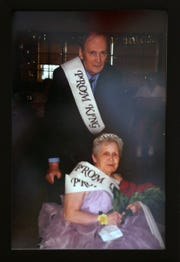 Dan Fitzpatrick and Betty Howell were prom king and queen in 2017 at Greenwood Meadows.