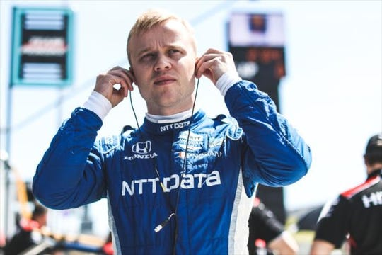 Chip Ganassi Racing rookie Felix Rosenqvist is off to a fast start this season, having qualified for the Fast 6 in the first two races.