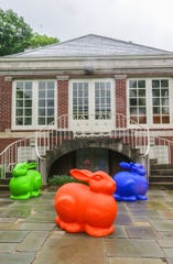 The former Lilly Family Playhouse, shown here with art from 2018's 'Summer Wonderland: Spectacular Creatures' installation, will be the new Culinary Arts Department's hub.