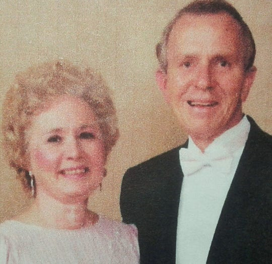 """Bob Fletcher is shown with his wife Margorie in a late 1980s photo. Circumstances of his unusual death in 2000 at Lake Macbride were said to be """"undetermined"""" by authorities."""