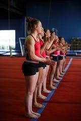 Arrow Athletics has a competitive gymnastics team.