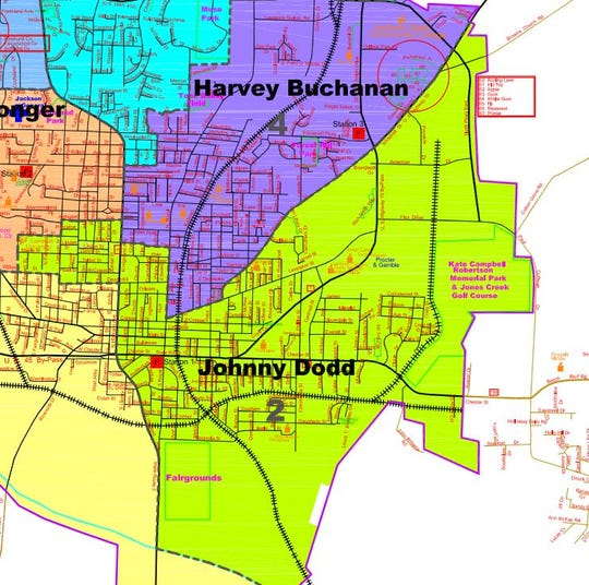 Jackson City Council district 2.