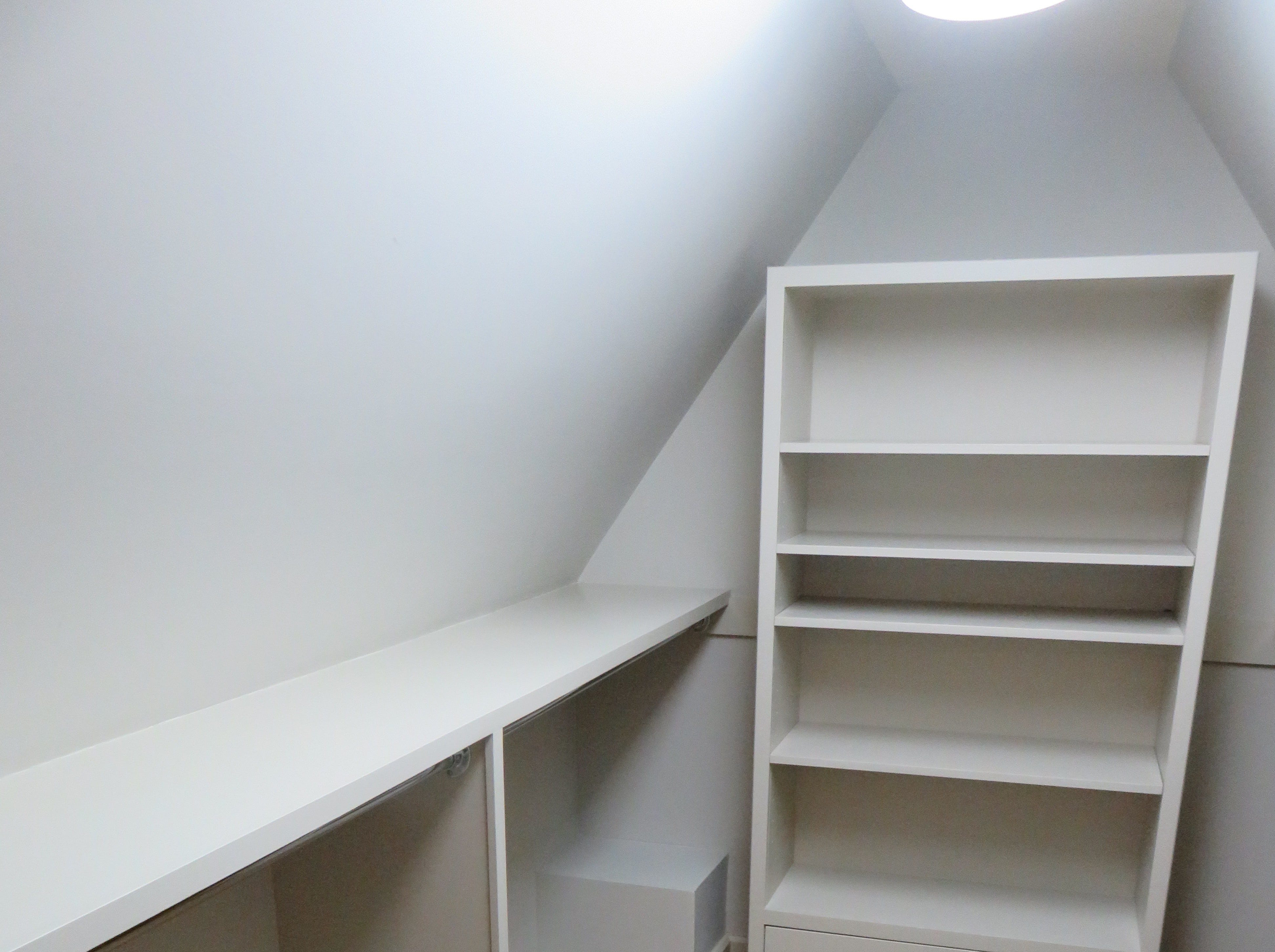 One of the expansive closets on upper floor of the Magnolia Bluff home.