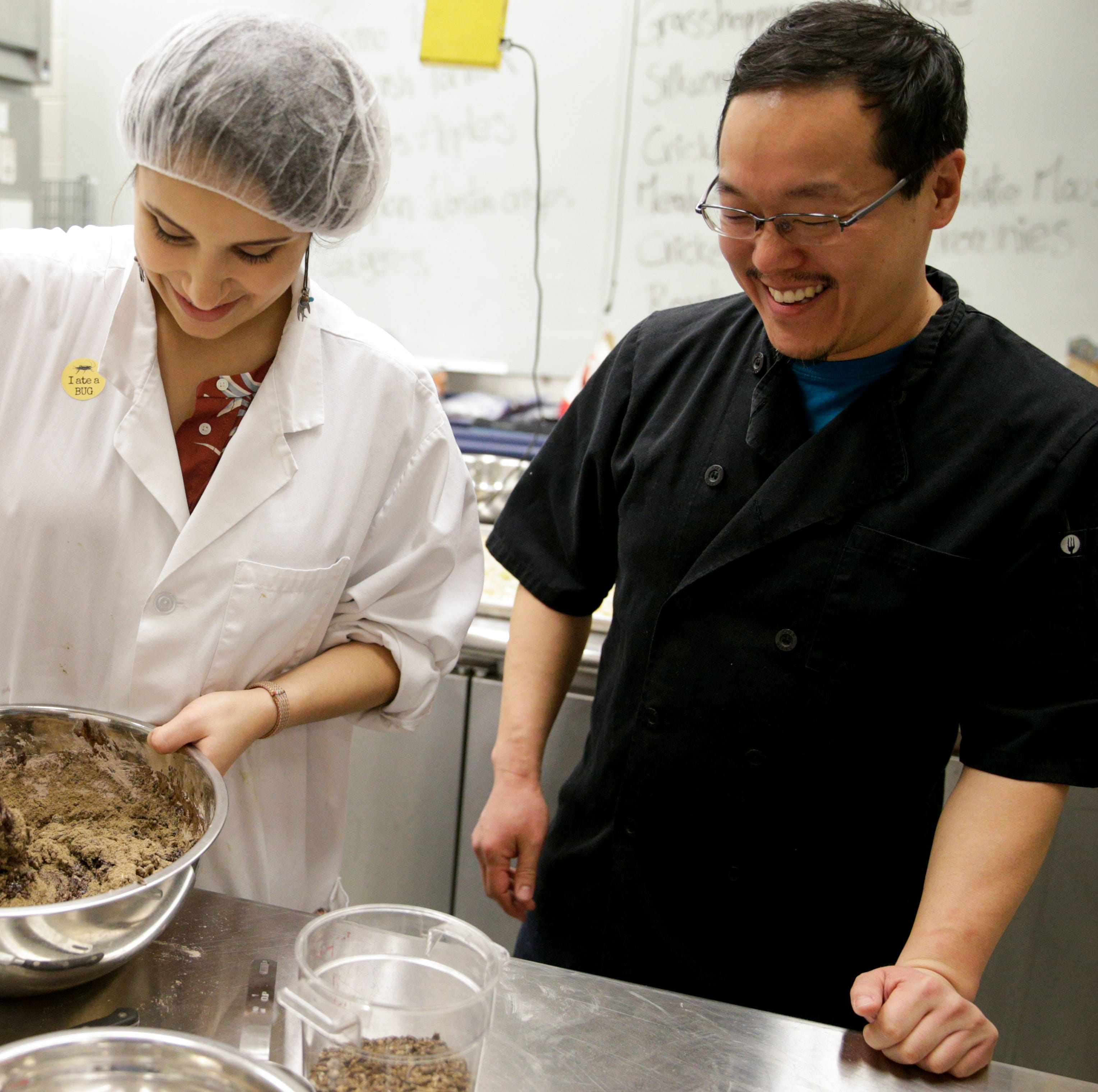 Add crunch to Purdue Spring Fest: Brooklyn Bug chef cooks with Food Science students